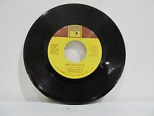 """45 RECORD 7""""- MARVIN GAYE & TAMMI TERRELL - WHAT YOU GAVE ME"""