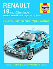 1646 Haynes Renault 19 Petrol (1989 - 1996) F to N Workshop Manual