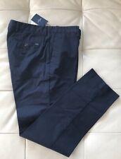34R in UK and 44R EUR Hackett London Sanderson Regular Fit Chino Pants Navy Blue
