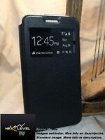Hülle Deckel Buch (TPU case) Huawei ENJOY 7 - Schwarz / BLACK