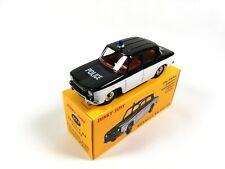 Renault R8 Police - DINKY TOYS DeAgostini VOITURE MINIATURE 517P