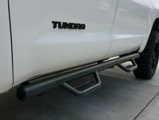 FOR 2008-2018 TOYOTA TUNDRA CREW MAX BLACK NERF BARS Running Boards SIDE Steps