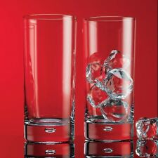 Bubble Highball Glasses - Set of 4 - 17 Ounce - Home Essentials Red Series