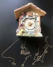 More details for spare/repairs the franklin mint - the country cottage heirloom cuckoo clock