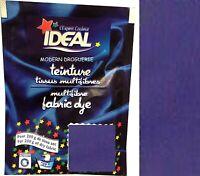 TEINTURE IDEAL TEXTILE TISSU VETEMENT VIOLET IRIS coton lin laine polyamide