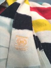 Hudson's Bay Point Blanket Incorporated 1670 / Navy Blue 100% Wool