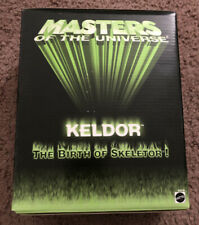 NEW MOTU Keldor 200X SDCC Exclusive 2003 sealed Masters Of The Universe He Man