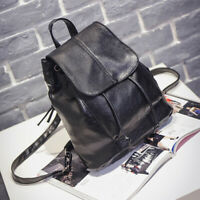 Women Girls Ladies Leather Backpack Travel Shoulder Bag PU Rucksack Handbag