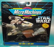 STAR WARS MICRO MACHINES SPACE NEW HOPE Y-WING SANDCRAWLER BLOCKADE RUNNER SET 4