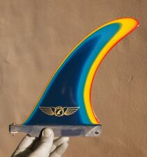 "Pilot Fins - 8"" Hercules - Multi Colour - Longboard Fin - Surfboard - Surf - New"