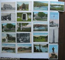 VERMONT (19 Vintage Postcards) Child's Tavern Wilmington, 1906 Rochester, etc.
