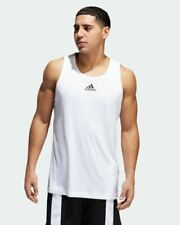 ADIDAS HEATHERED TANK TOP MEN'S US SIZE - 2XL STYLE # EJ5612