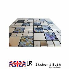mosaic sheets tiles stainless steel egyptian style