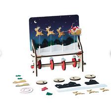 KiwiCo - Santa's Sleigh Automaton - Ages 7+ - Educational Toys - New