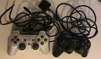 2x Official Sony Playstation 2 Controllers