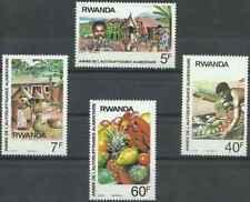 Timbres Rwanda 1233/6 ** lot 26490
