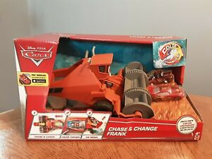 Disney Pixars Cars Color Changers (CHASE & CHANGE FRANK) NEW IN BOX