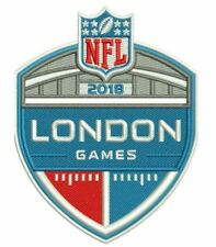 LONDON GAMES 2018 JERSEY PATCH SEAHAWKS RAIDERS JAGUARS EAGLES TITANS CHARGERS