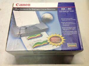 NEW OPEN Canon BJC-80 Color Bubble Inkjet Printer