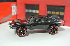 Hot Wheels '70 Dodge Charger - Fast & Furious - Black - Loose - 1:64 4x4