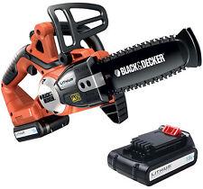 Motosega a batteria litio 18V 2Ah Black & Decker GKC1820 L20 20 cm 1 batterie