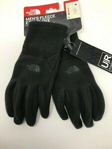 THE NORTH FACE Men's Fleece Etip Gloves TNF Choose Size Grey or Black  NWT $45