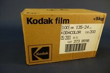 Box Of 100 Kodak Colour Expired 35mm Camera Film, Kodacolor 200, Lomography