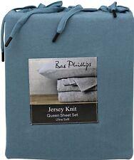 Bas Phillips Ultra Soft Jersey Sheet Set | Like your Favourite T-shirt | Teal