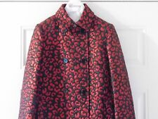 RED VALENTINO DOUBLE BREASTED BROCADE COAT...SZ 40...$1350