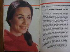 JUNE 1961 TV  Guide (SHARON  HUGUENY/LISABETH  HUSH/FRANK  CORDELL/NAKED  CITY)