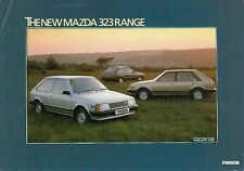 Mazda 323 Hatchback 1980-81 UK Market Launch Leaflet Brochure 1100 1300 1500 GT