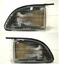 MITSUBISHI GALANT front signal indicator lights lamp assembly SET LH+RH  1996-02