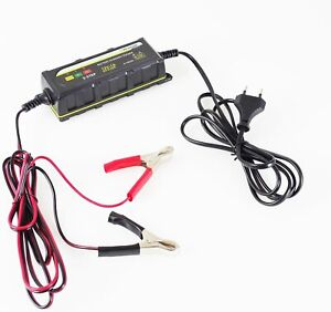 DUNLOP Chargeur de Batterie Voiture et Moto de...