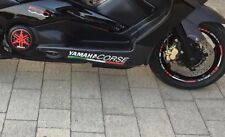 Adesivi sottopedana Yamaha Corse TMAX 500-530 T MAX stickers decal MOTO SCOOTER