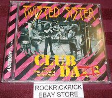 TWISTED SISTER - CLUB DAZE VOLUME I THE STUDIO SESSIONS -13 TRACK CD (BRAND NEW)
