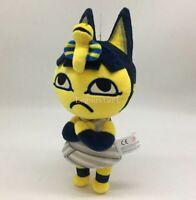 "Animal Crossing Ankha 8"" Plush Toy Stuffed Doll New Lovely Kids Birthday Gifts"