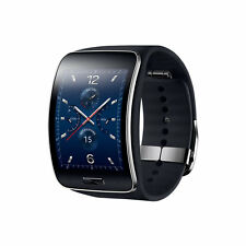 Samsung SM-R750A Galaxy Gear S Black Curved AMOLED Unlocked AT&T Smartwatch