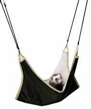Hanging Hammock Bed Nest Toy for Ferrets Rats Hamsters Cage by Trixie - 45x45 cm