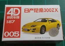 1/87 HO Scale Nissan 300ZX Plastic Model Kit 4D #005