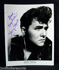 HARRY HEPCAT-Signed 8 x 10 Photograph-Rockabilly Hall Of Fame-COA