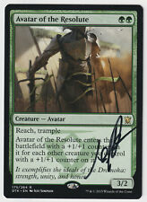 Signed Avatar of the Resolute LP/MP Artist Jeff Simpson MTG Nate's Magic Cards!