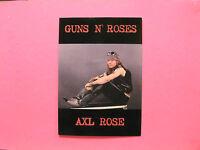 AXL ROSE / GUNS N' ROSES OFFICIAL VINTAGE POSTCARD UK IMPORT CULT IMAGES SLASH