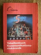 Kommunikationselektronik Tabellenbuch - Signalübertragung Elektrophysik Bauteile