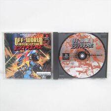 OFF WORLD INTERCEPTOR EXTREME PlayStation Japan Video Game Japan p1