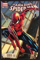 AMAZING SPIDER-MAN #1 Comic Book J SCOTT CAMPBELL VARIANT Marvel 2014 NM