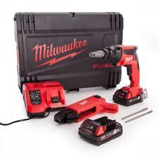Milwaukee M18FSGC-202X 18V Drywall Screwgun Kit 2 x 2.0Ah Batteries & Charger