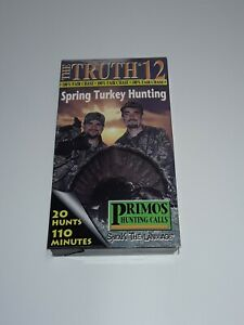 The Truth 12 Spring Turkey Hunt 20 Hunts 110 Minute Video,Primos Hunting Calls .