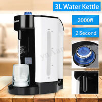 3L Electric Hot Fast Water Boiling Kettle Heating Coffee Tea Maker