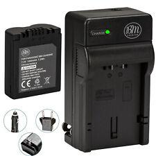 BM CGA-S006 Battery & Charger for Panasonic Lumix DMC-FZ28,FZ30,FZ35,FZ38,FZ50