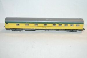 N scale Atlas Chicago & North Western Ry streamlined passenger car train